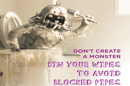 dont-flush-wipes-blocked-drains