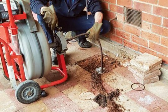 Drain clearing service in Redcliffe