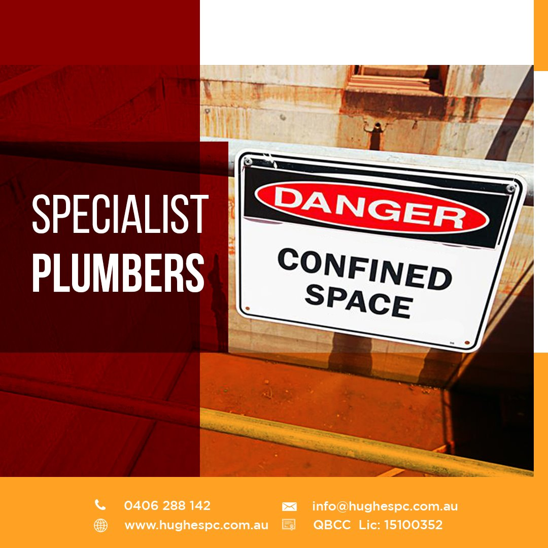 Brisbane confined space entry plumbers gas fitters